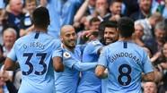 Thắng trên sân Everton, Man City lên đầu bảng Premier League