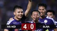 """Hà Nội - SLNA (4-0): Quyền uy """"nhà vua""""!"""