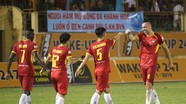 Điều gì khiến SLNA 'ẵm' dễ 3 điểm trên sân khách S. Khánh Hòa?
