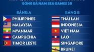 Bốc thăm chia bảng SEA Games 30: U22 Việt Nam rơi vào bảng đấu khó