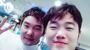 Con trai HLV Park Hang - seo giống Xuân Trường như anh em ruột