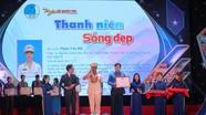 Cán bộ Cảnh sát cơ động Nghệ An được tuyên dương 'Thanh niên sống đẹp' 2020
