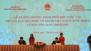 Nâng cao hiệu quả công tác về tín ngưỡng, tôn giáo trong cộng đồng người Việt Nam ở nước ngoài