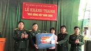 Bộ CHQS tỉnh Nghệ An bàn giao nhà tình nghĩa, nhà đồng đội cho các quân nhân khó khăn