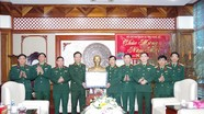 Bộ Tư lệnh Quân khu 4 thăm, chúc Tết cán bộ, chiến sỹ Bộ CHQS Nghệ An