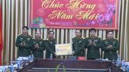 Chính ủy Bộ Tư lệnh Quân khu 4 thăm và chúc Tết Bộ CHQS tỉnh Nghệ An