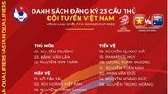 Tuyển Việt Nam chốt danh sách đấu Australia: Đình Trọng vắng mặt, Bùi Tiến Dũng trở lại