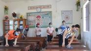 Quỳnh Lưu khẩn trương vệ sinh sau lũ, chuẩn bị đón học sinh trở lại trường