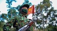 Bộ CHQS tỉnh Nghệ An tăng cường cán bộ lên tuyến biên giới phòng chống dịch Covid-19