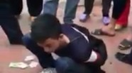 Trộm tiền công đức ở đền, nam thanh niên bị đánh bầm dập