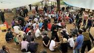 Triệt phá sới bạc 'khủng' vùng biên bắt giữ tới 150 con bạc