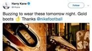 Harry Kane đi giày vàng khi Anh đấu Tây Ban Nha
