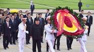 Toàn cảnh lễ viếng Chủ tịch Hồ Chí Minh của Chủ tịch Kim Jong-un