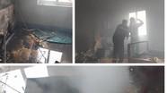 Cháy nhà dân tại thành phố Vinh, nghi do sự cố hệ thống điện năng lượng mặt trời