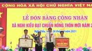 Phó Chủ tịch UBND tỉnh dự lễ đón Bằng công nhận xã đạt chuẩn Nông thôn mới