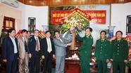 Lãnh đạo Quân khu 4, tỉnh Nghệ An chúc mừng ngày truyền thống Bộ đội biên phòng