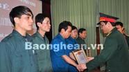 Ban CHQS thành phố Vinh: Hội thi sáng kiến cải tiến mô hình học cụ