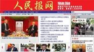 Khai trương báo Nhân dân điện tử tiếng Trung Quốc