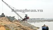 Sạt lở kè sông Lam qua xã Nam Cường: Cần gia cố gấp