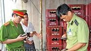 Kiểm tra sản xuất, buôn bán bia chai Hà Nội tại Diễn Châu