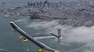 Máy bay năng lượng mặt trời bay xuyên nước Mỹ