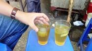 Trà đá, nước mía, nhân trần... nhiễm khuẩn Ecoli