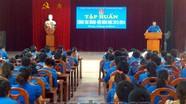 Tập huấn công tác đoàn – đội cho khối trường học