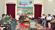 Phó Tư lệnh Quân khu 4 làm việc với lãnh đạo tỉnh Nghệ An