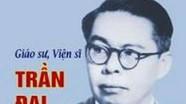 Ra sách nhân 100 năm ngày sinh GS Trần Đại Nghĩa