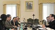 Đoàn Ban Tôn giáo Chính phủ Việt Nam thăm Vatican