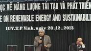 Hội thảo Khoa học về năng lượng tái tạo và phát triển bền vững