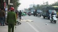 Lái xe bỏ chạy sau khi tông chết người