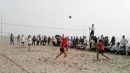 Quỳnh Lưu: Khai mạc Giải bóng chuyền bãi biển