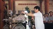 Đoàn công tác tỉnh dâng hoa, dâng hương tại Truông Bồn, NT Việt Lào