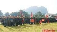 Các địa phương trong tỉnh tổ chức lễ giao nhận quân đợt 2, năm 2014