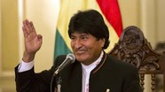 Đương kim Tổng thống Bolivia Evo Morales tái đắc cử nhiệm kỳ thứ 3