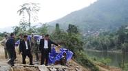 Lãnh đạo tỉnh kiểm tra tiến độ xây dựng tuyến đường miền Tây Nghệ An