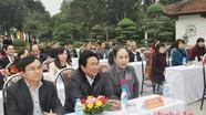 Lễ trao tặng Mộc bản khắc về cụ Phó bảng Nguyễn Sinh Sắc