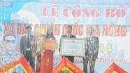 Diễn Tháp: Đón nhận bằng công nhận xã đạt chuẩn Nông thôn mới