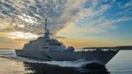 Mỹ lần đầu tiên triển khai tàu tuần duyên LCS tới Đông Bắc Á