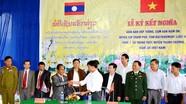 Tăng cường đối ngoại nhân dân,  vun đắp tình hữu nghị Việt - Lào