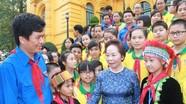 Phó Chủ tịch nước gặp gỡ Đoàn đại biểu Cháu ngoan Bác Hồ tỉnh Nghệ An