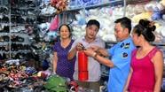 Trung tâm thương mại chợ Đô Lương: Chủ động phòng hỏa mùa nắng nóng