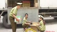 Chi cục QLTT Nghệ An bắt giữ 93.000 quả trứng gia cầm không rõ nguồn gốc