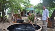 Nghề đan thuyền thúng ở Nghi Phong (Nghi Lộc)