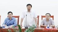 UBND tỉnh làm việc với Phòng Thương mại và Công nghiệp Việt Nam (VCCI)