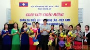Tô thắm thêm tình hữu nghị Việt - Lào