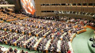 """Trung - Nhật """"khẩu chiến"""" về lịch sử ở Đại hội đồng Liên hợp quốc"""