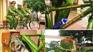 Khám phá xe đạp tuần tra của cảnh sát Nghệ An