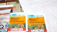 Khuyến cáo người dân không sử dụng thuốc diệt chuột Rat K2% DP